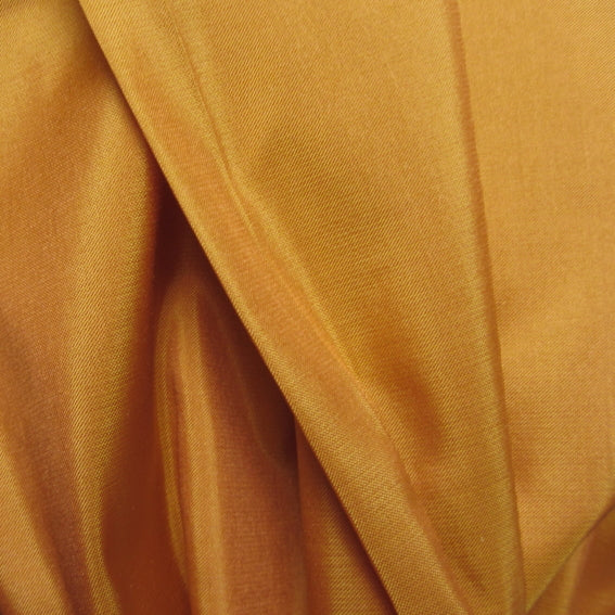 Fair Trade Mustard Silk Taffeta