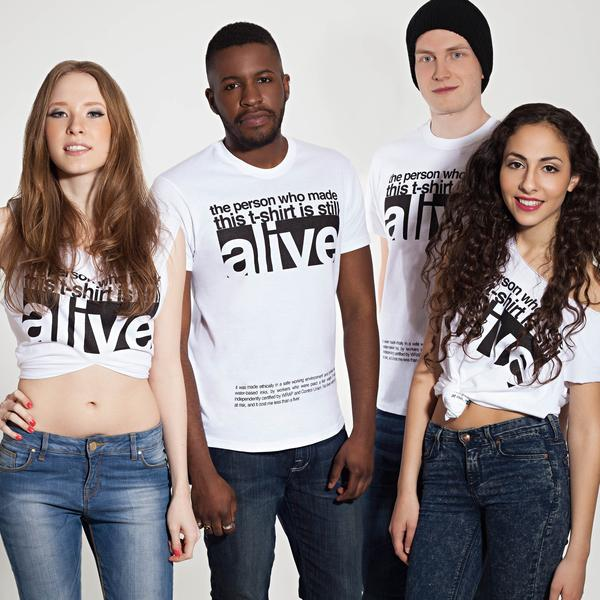 Alive T-Shirt - Large + £5 donation
