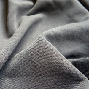 Black Organic Cotton Fleece