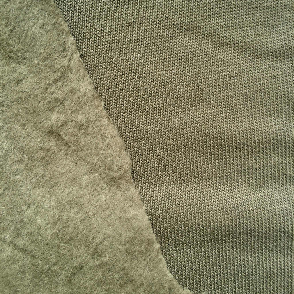 Khaki Organic Cotton Fleece