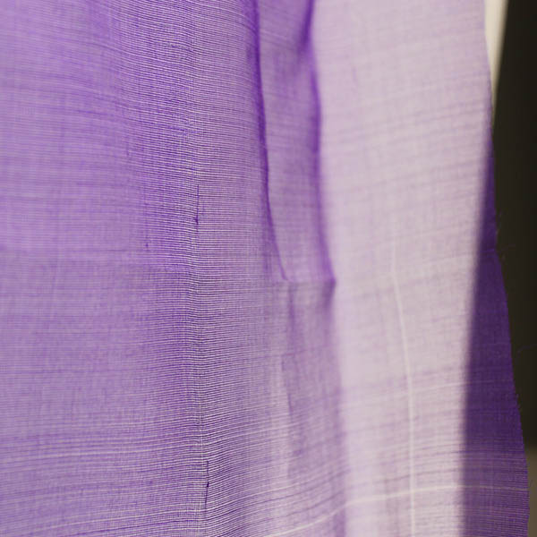 Purple Silk Organza