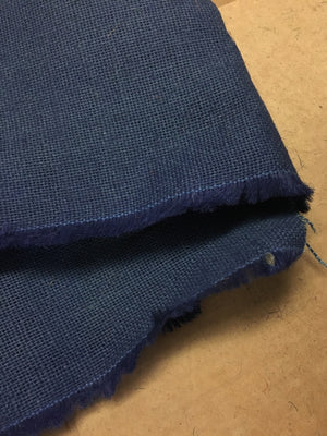Navy Blue Jute Hessian