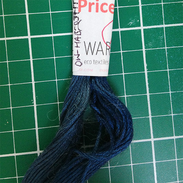 Cotton Slate Blue Embroidery Thread