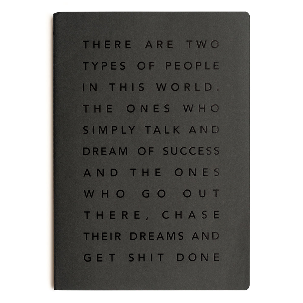 MiGoals - A6 Get Shit Done Notebook