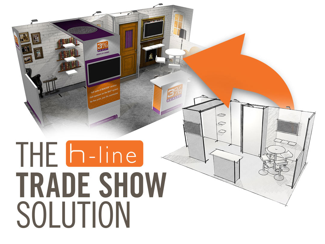 Display Dynamics - The H-line Trade Show Solution
