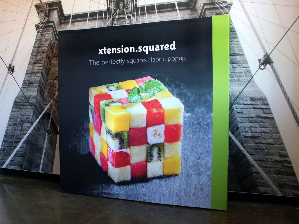 Xtension Squared Pop-Up Display