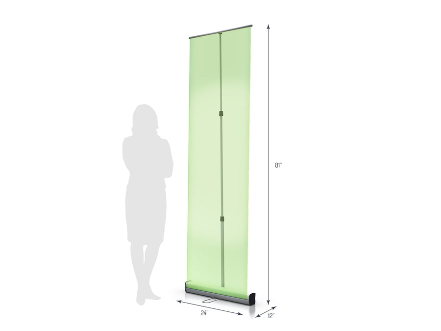 Axis 600 Retractable Banner Stand (View 01)
