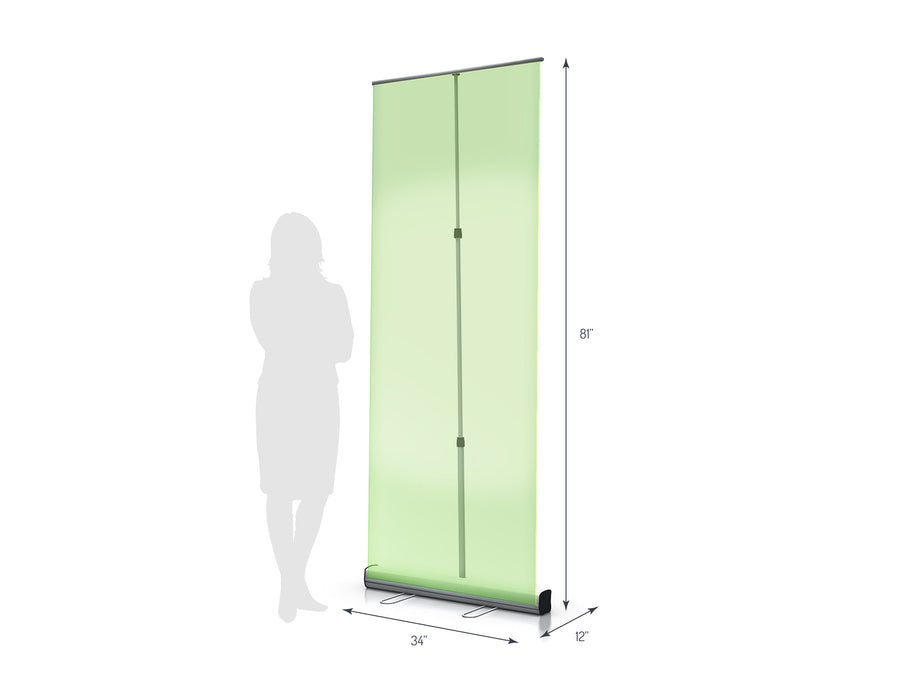 Axis 850 Retractable Banner Stand (View 01)