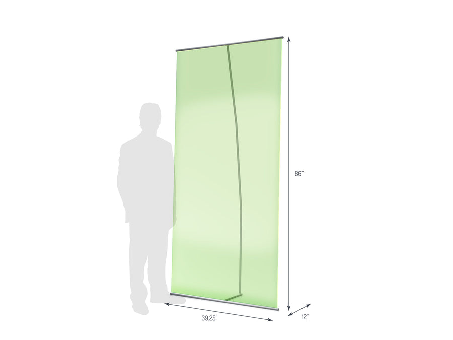 Lite Banner 1000 Non-Retractable Banner Stand (View 01)