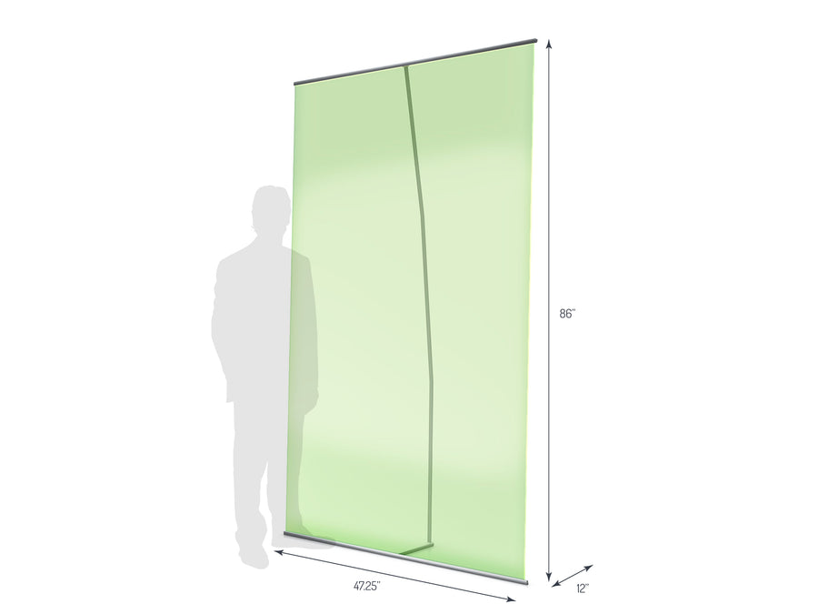 Lite Banner 1200 Non-Retractable Banner Stand (View 01)