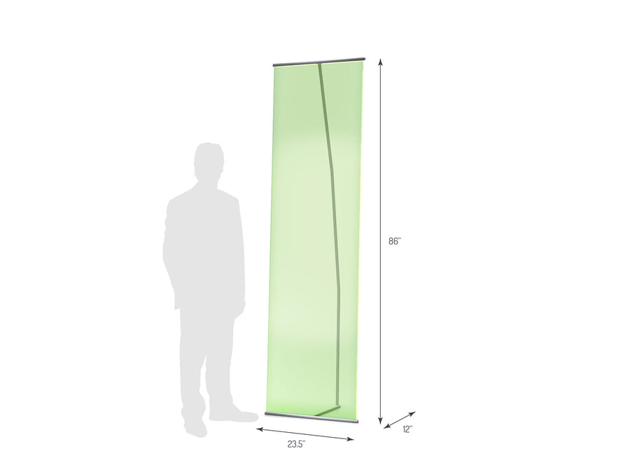 Lite Banner 600 Non-Retractable Banner Stand (View 01)