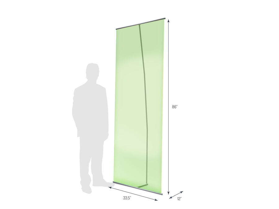 Lite Banner 850 Non-Retractable Banner Stand (View 01)