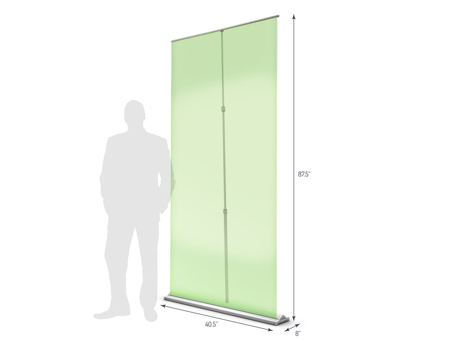 Supreme 1000 Retractable Banner Stand (View 01)