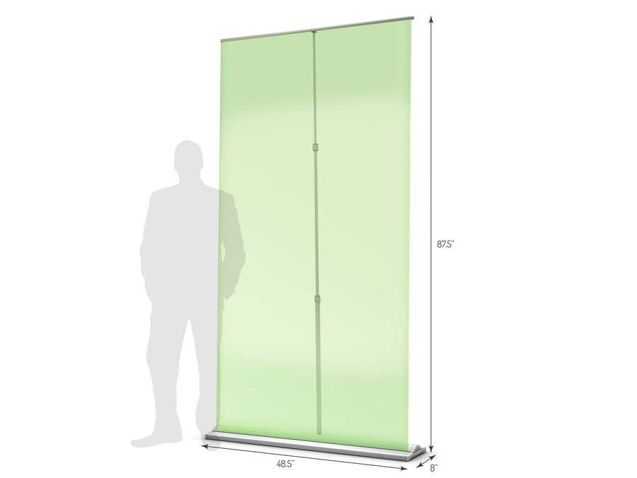 Supreme 1200 Retractable Banner Stand (View 01)
