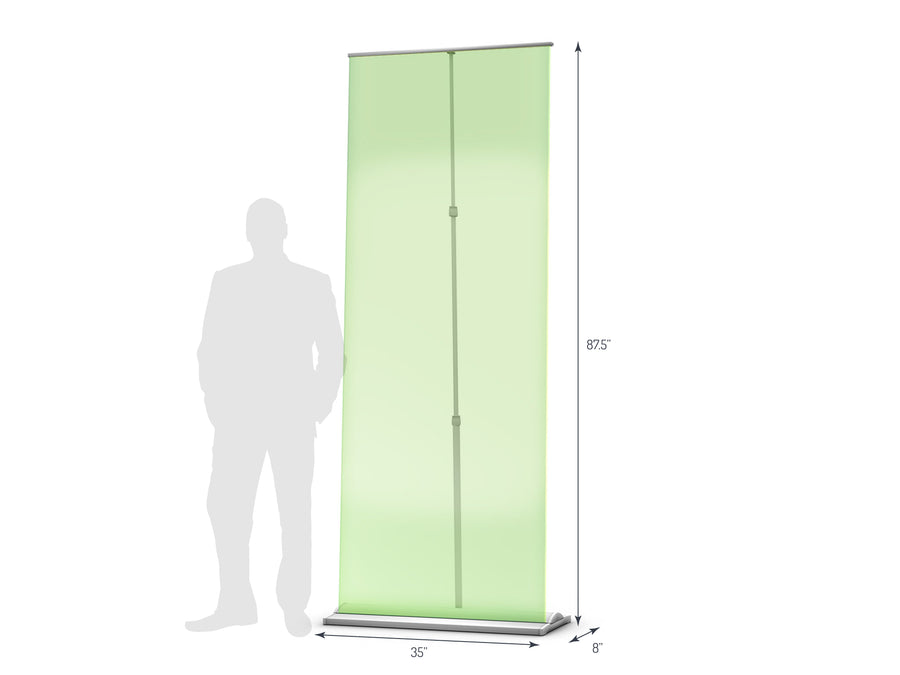 Supreme 850 Retractable Banner Stand (View 01)