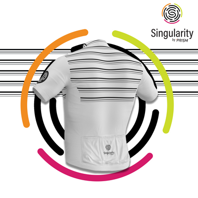 Men's Singularity White Chesty Triple Stripe