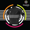 Men's Singularity Black Half Stripe
