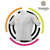 Men's Singularity Block Saffron Logo