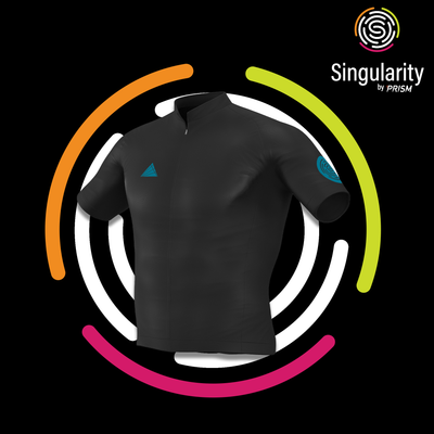 Men's Singularity Block Mosaic Blue Logo