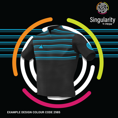 Women's Singularity Black Chesty Triple Stripe