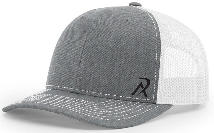 REALI Heather Grey/White  Snap Back