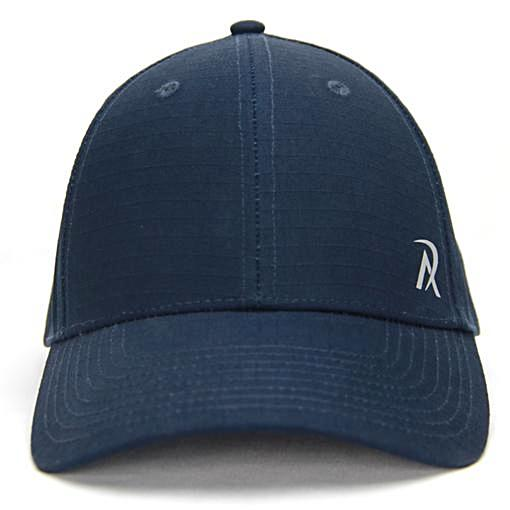 N0004 - REALI-Ripstop Hat Snapback Navy -Front