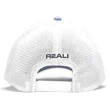 NHW0003 - REALI-Blue Heather Hat Snapback Back