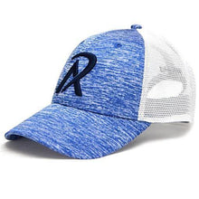 NHW0003 - REALI-Blue Heather Hat Snapback Side