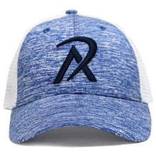 NHW0003 - REALI-Blue Heather Hat Snapback Front