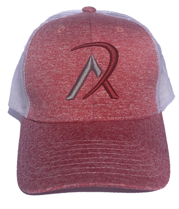REALI Heather Red Snap Back