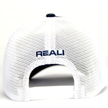 NW0001 - REALI-Suede Hat Snapback Navy Back