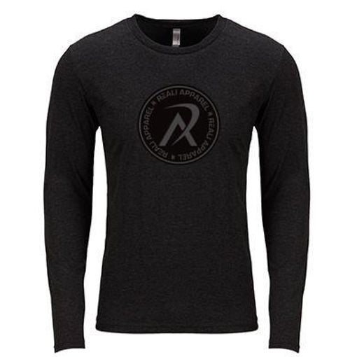 REALI Tri-Blend Long-Sleeve Crew T-Shirt