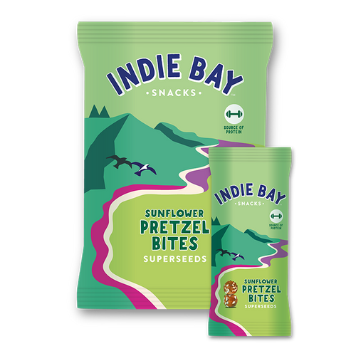 Indie Bay Snacks Superseeds pretzel bites