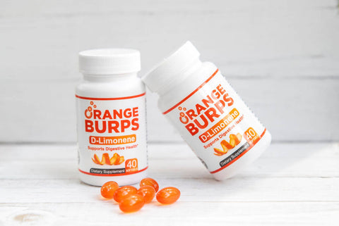 Orange Burps dietary supplement