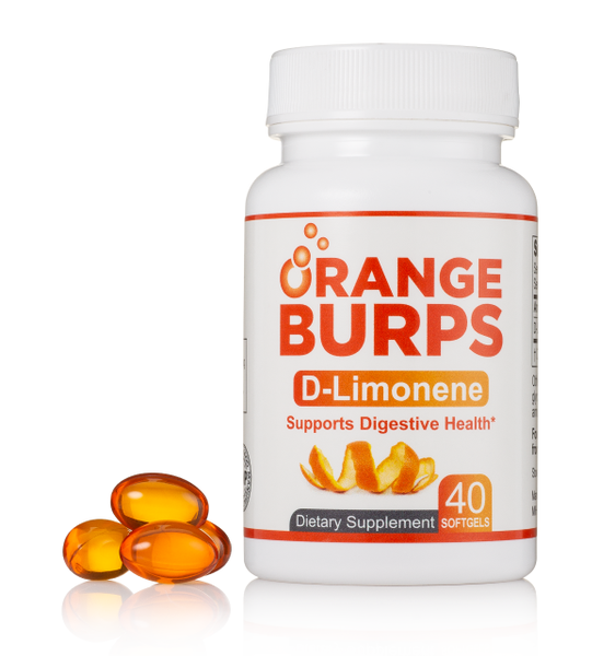 Orange Burps - d-Limonene (from Orange Peel Oil)