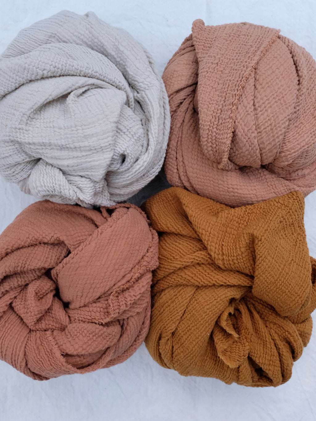 Squishy Scarf-almond
