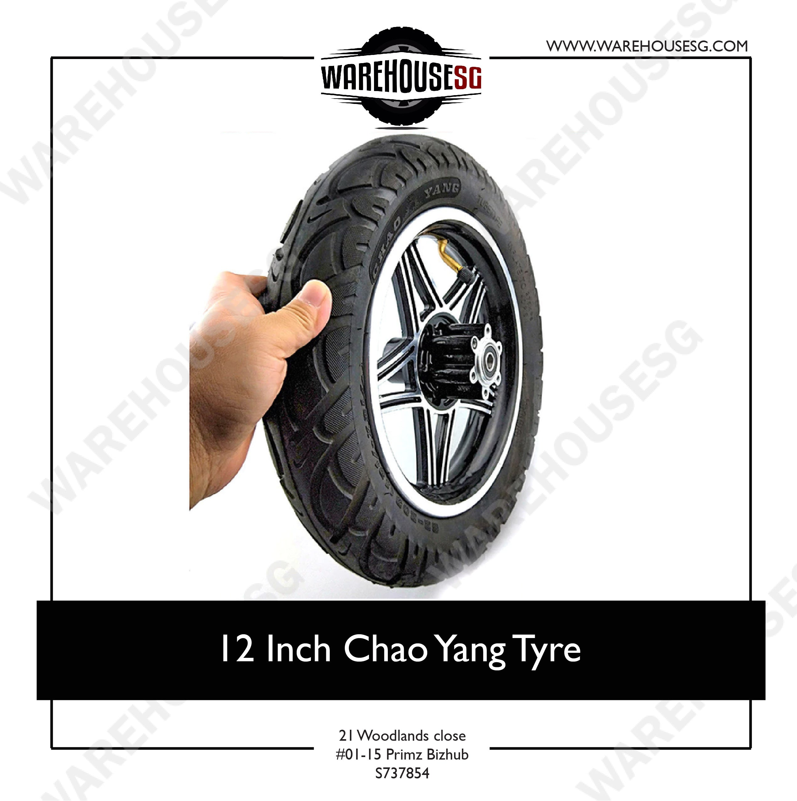 12 Inch Chao Yang Tyre