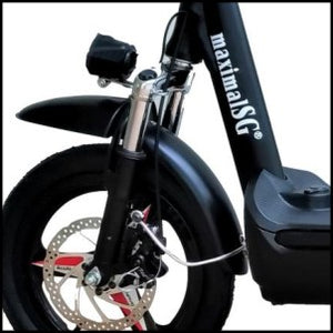 MaximalSG PMD-F-07 Seated 14inch Electric Scooter 48V 7.5AH LTA compliant (UL2272)