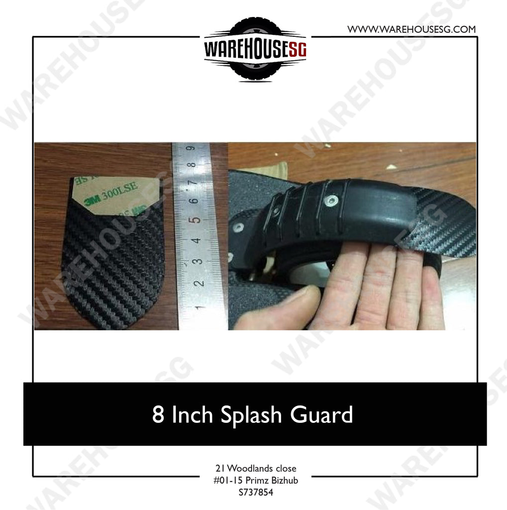 8 Inch Splash Guard