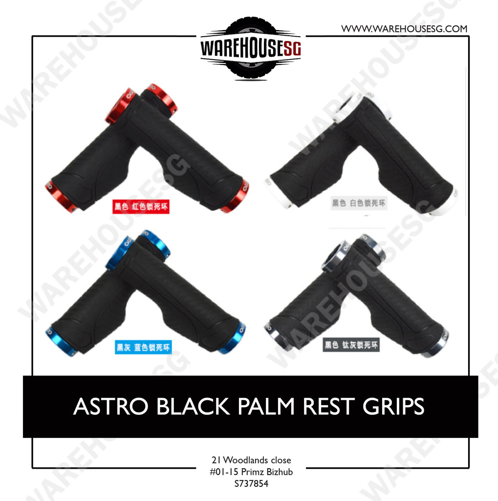 ASTRO BLACK PALM REST GRIPS