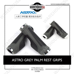 ASTRO GREY PALM REST GRIPS