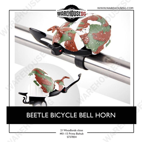 BEETLE BICYCLE BELL HORN
