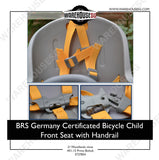 BRS Germany Certificated Bicycle Child Front Seat with Handrail
