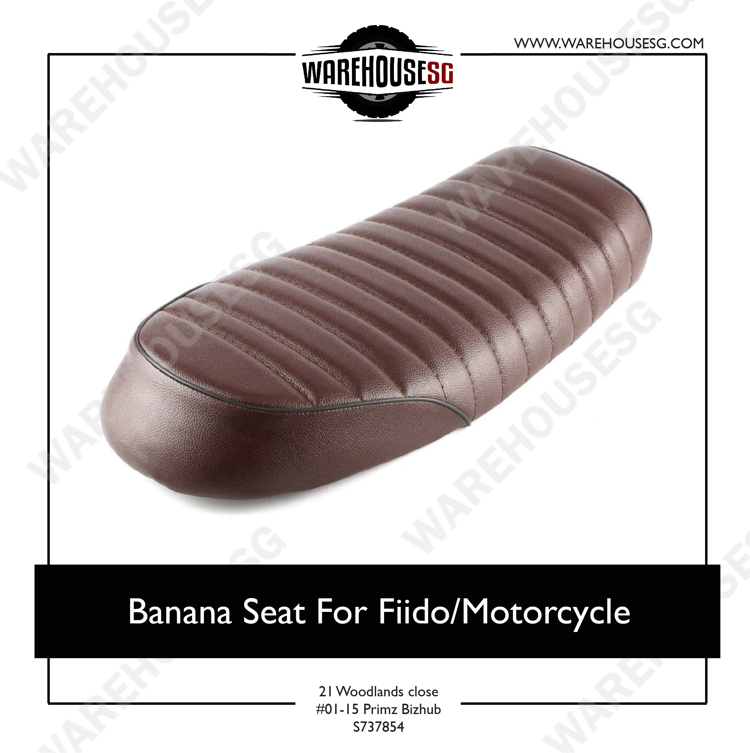 Banana Seat For Fiido/Motorcycle