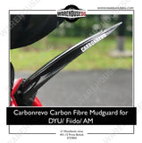 CARBONREVO CARBON FIBRE MUDGUARD FOR DYU FIIDO AM