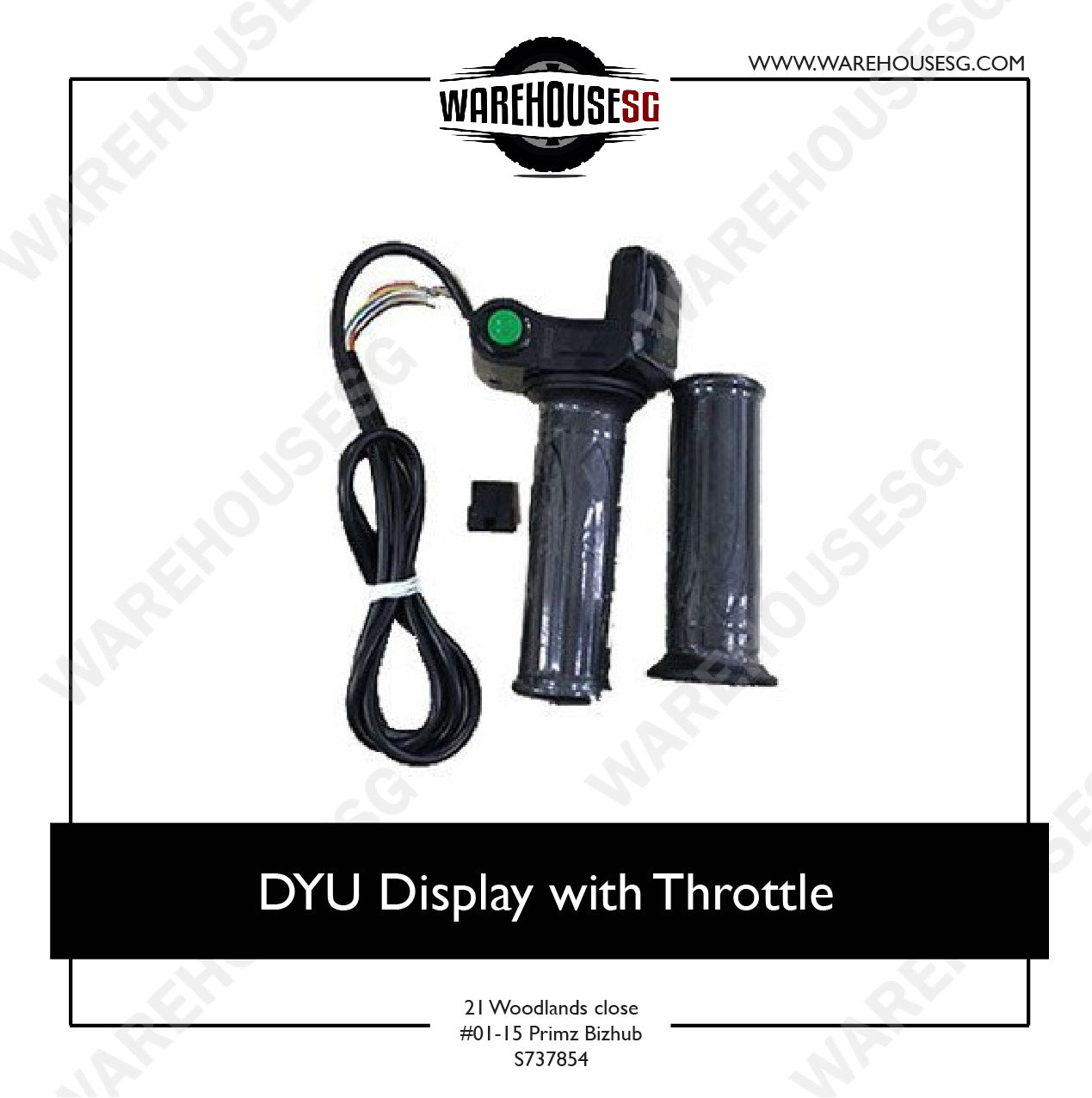 DYU Display with Throttle