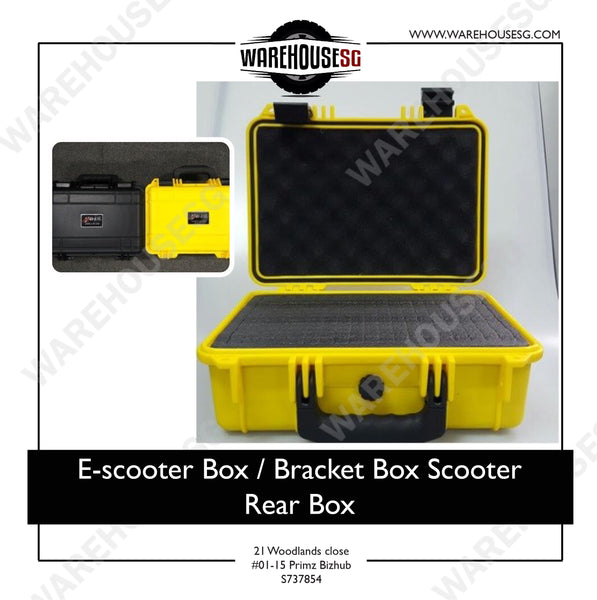E-scooter Box / Bracket Box Scooter Rear Box