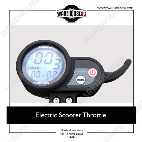 Electric Scooter Throttle