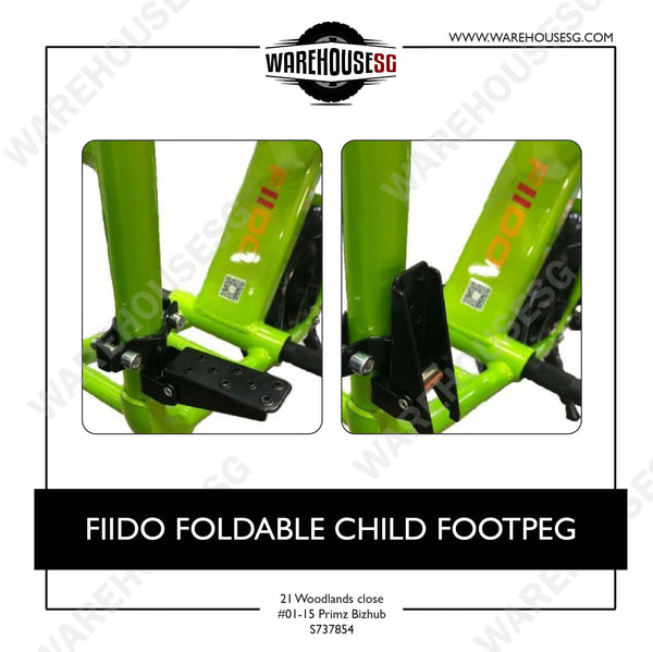 FIIDO FOLDABLE CHILD FOOTPEG