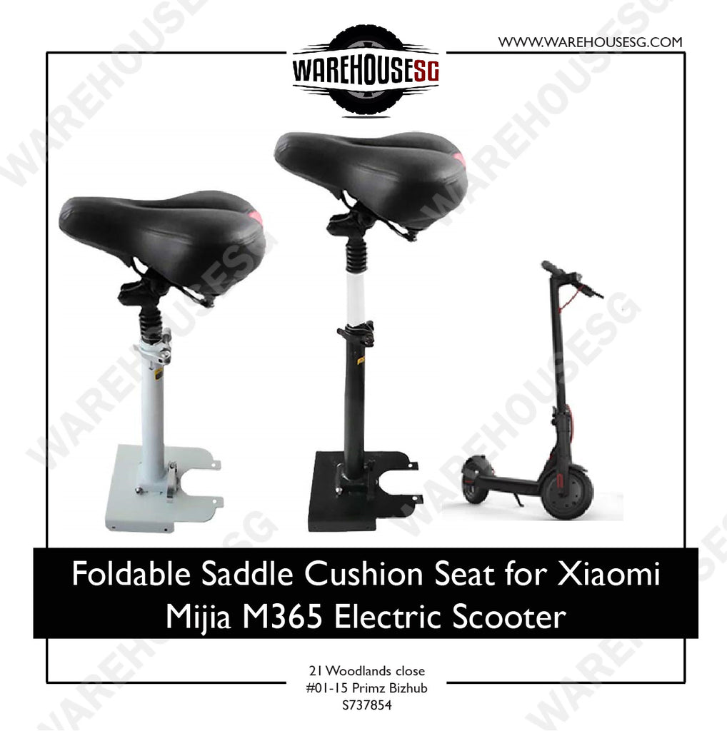 Foldable Saddle Cushion Seat for Xiaomi Mijia M365 Electric Scooter